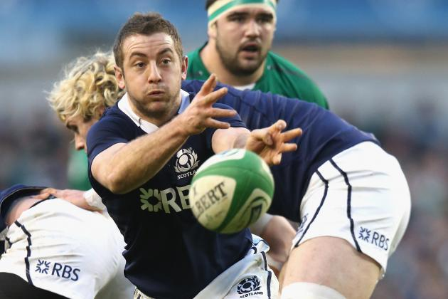 Scotand Captain Greig Laidlaw Ahead of the Match Against England