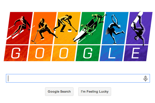 Google Doodle Has Winter Olympics Theme, Dig at Russia's Homosexuality Laws