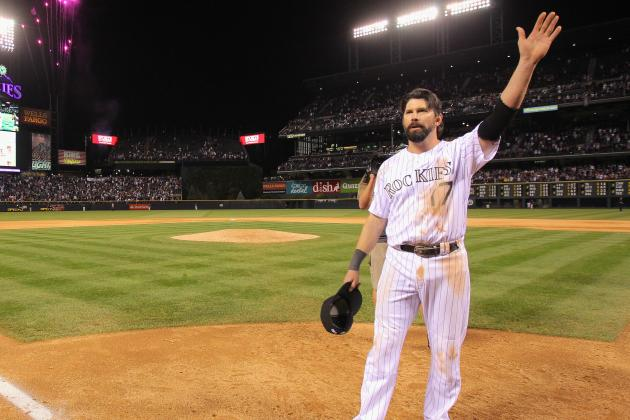Todd Helton's No. 17 to Be Retired by Colorado Rockies on Aug. 17