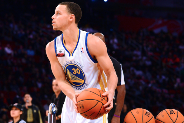 Stephen Curry Headlines 2014 All-Star Weekend 3-Point Contest Lineup