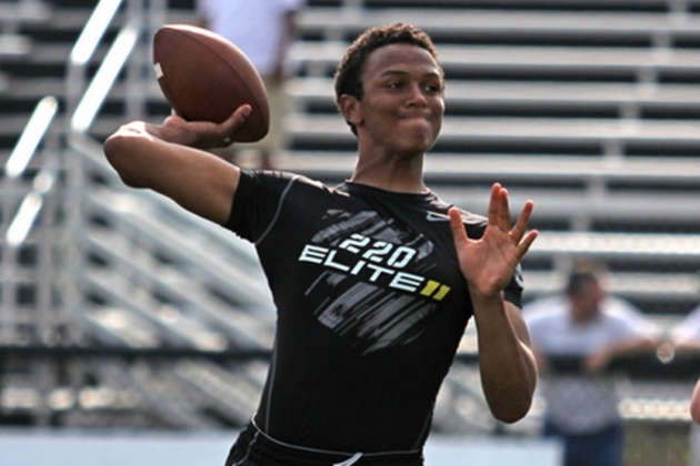 Kelly Excited to Land 4-Star Quarterback DeShone Kizer