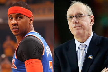 Jim Boeheim to Carlmelo Anthony: Sign Somewhere You Can Win