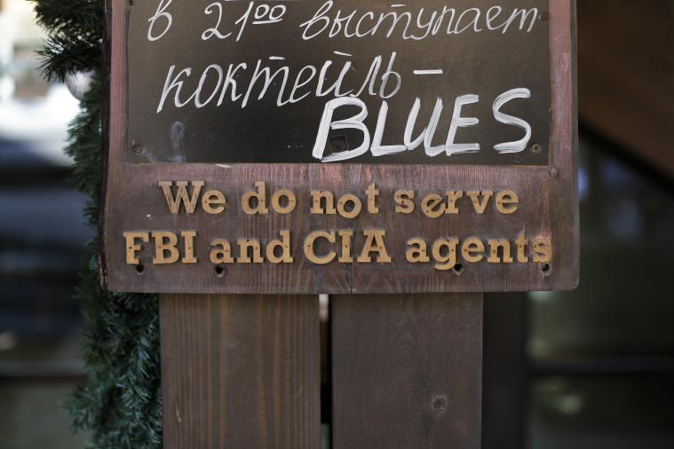 Sochi-Area Restaurant Doesn't Allow CIA and FBI Agents