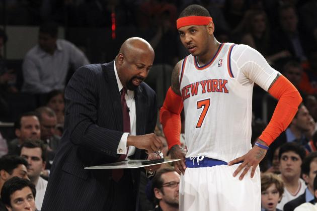 James Dolan Allegedly Mulled Mike Woodson's Fate with Carmelo Anthony