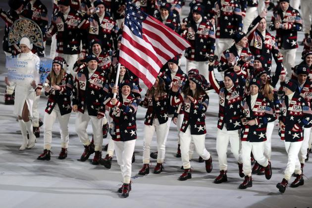 Sochi 2014 Olympics: Early Look at Images from Opening Ceremony