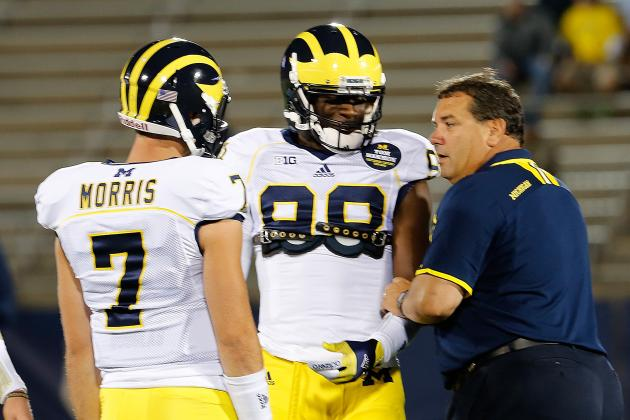 Michigan Football: Brady Hoke Opening Up QB Job This Spring a Brilliant Move