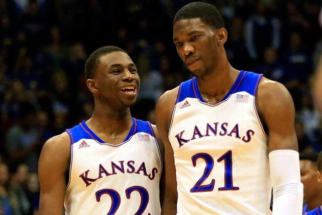 How Does Kansas Do with Each Player On/off the Court?