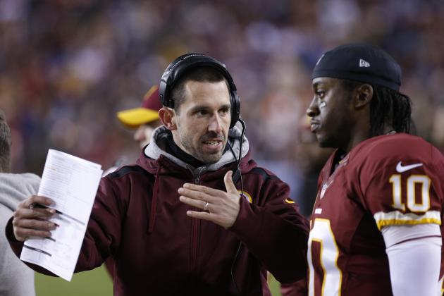 Kyle Shanahan on 2013 with RG3: It Will Make Us Both Better