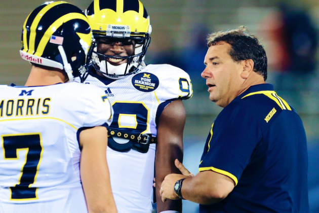 Michigan Football: Brady Hoke Opening Up QB Job This Spring a Brilliant Move
