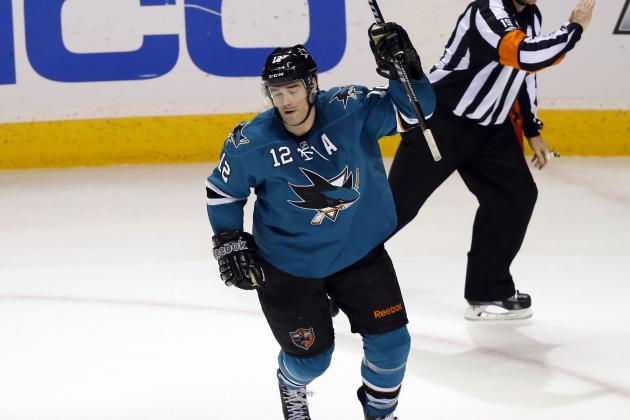 Sharks' Marleau Struggling Since Contract Extension