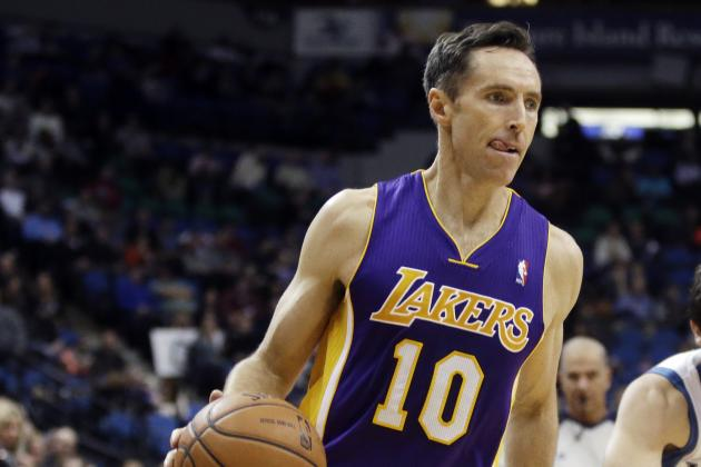 Steve Nash Turns 40: 'Great Being Known for Being Old'