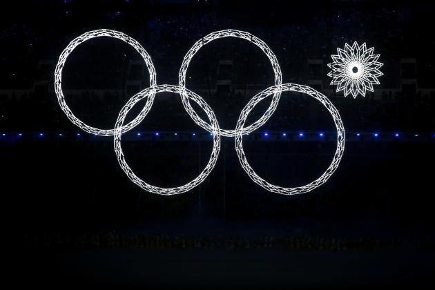 Russia Hides Olympic Rings Blunder on TV Broadcast