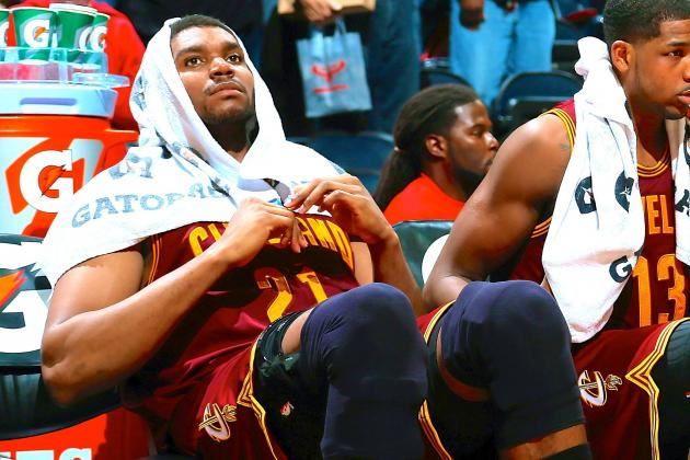 Andrew Bynum Hasn't Had a Workout Regimen Since Leaving Cleveland Cavaliers