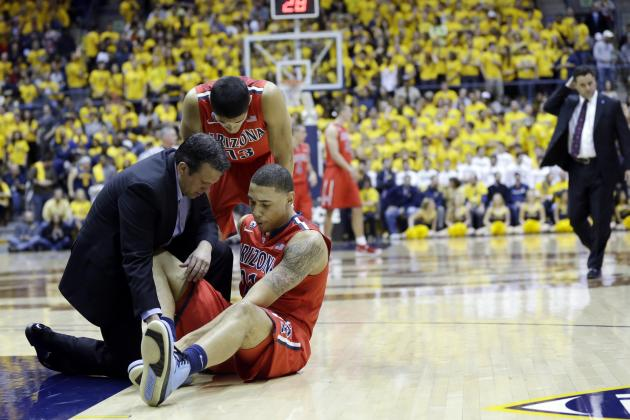 Arizona Basketball: Brandon Ashley Injury Won't Cost Wildcats No. 1 Seed