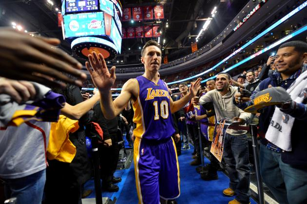 Amid Los Angeles Lakers' Lost Season, Steve Nash Finds Reasons to Survive