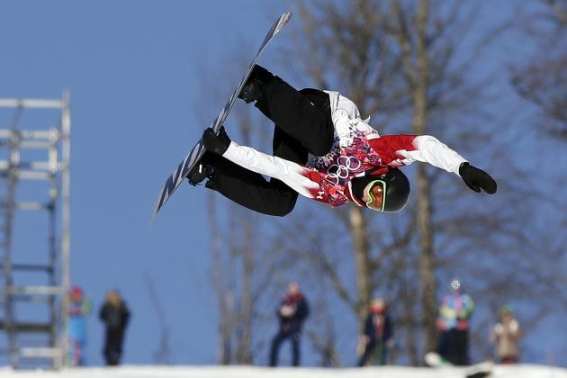 Olympic Snowboarding 2014: Men's Slopestyle Semifinals Results and Scores
