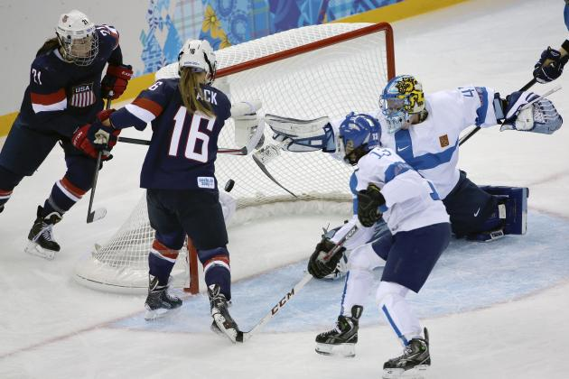 Women's Hockey Olympics 2014: USA Wins, but Finland Goalie Steals Show