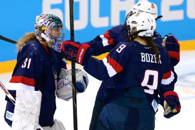 USA vs. Finland Women's Hockey: Score and Recap from 2014 Winter Olympics