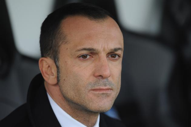 Inter Milan Fire Technical Director Marco Branca