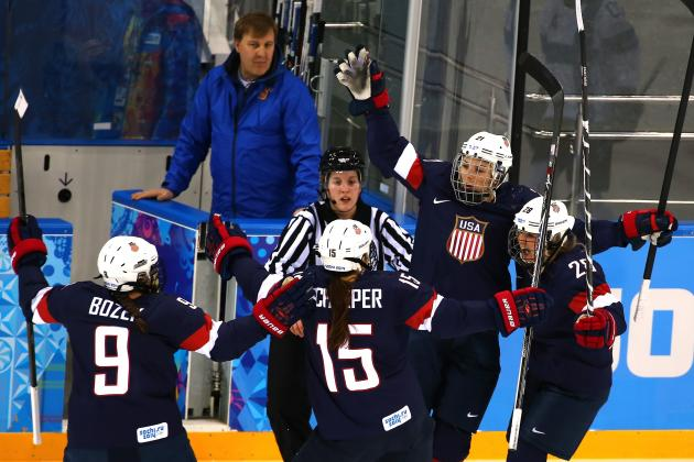 Olympic Hockey 2014: Scores, Recap and Updated Women's Standings After Day 1