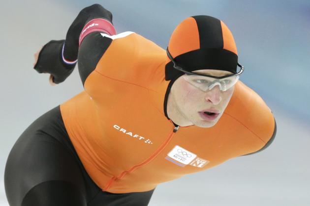Men's Speedskating Olympics 2014: 5,000-Meter Medal Winners and Times