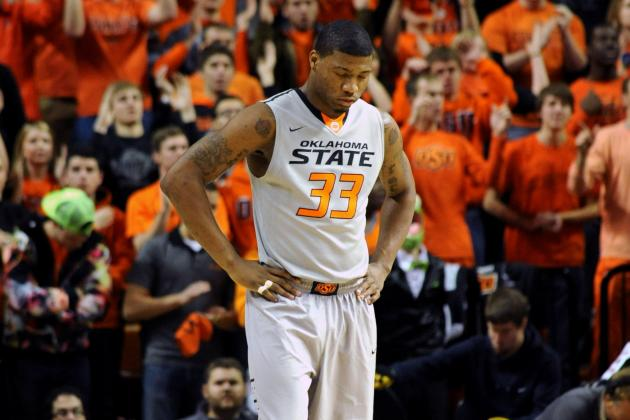 Oklahoma State Basketball: Is Marcus Smart Trying Too Hard?