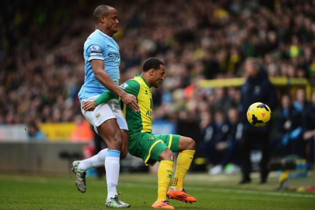Norwich City vs. Manchester City: Live Player Ratings for Manchester City