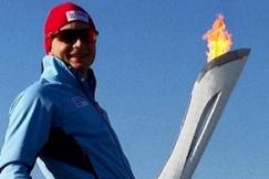 Norwegian Speed Skater Havard Bokko Is Enjoying Himself at the Olympics