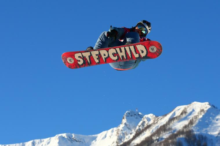 Olympic Snowboarder Alexey Sobolev Writes Phone Number on Helmet; Phone Crashes