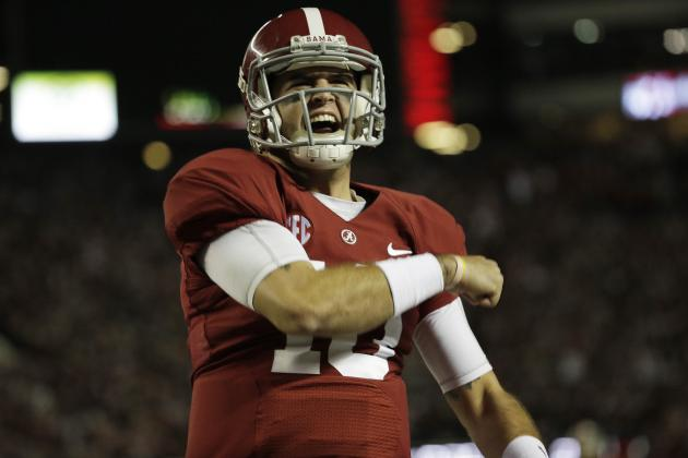 AJ McCarron Scouting Report: NFL Outlook for Alabama QB