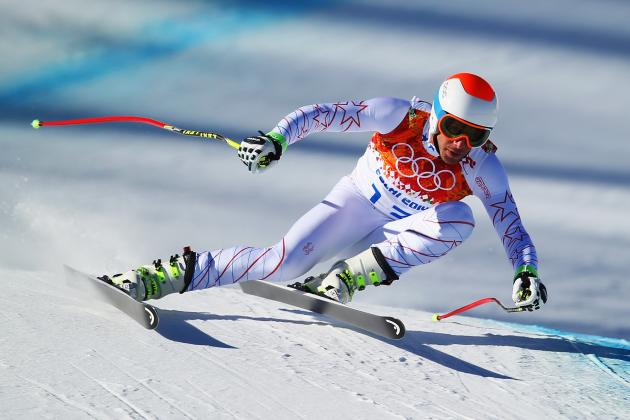 Bode Miller Fails to Medal in Men's Downhill Final at Sochi 2014 Olympics