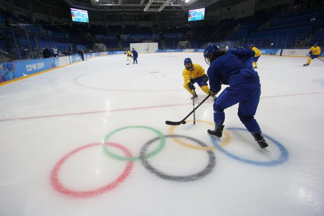 Olympic Hockey Schedule 2014: TV Info, Live Stream and Predictions for Day 2