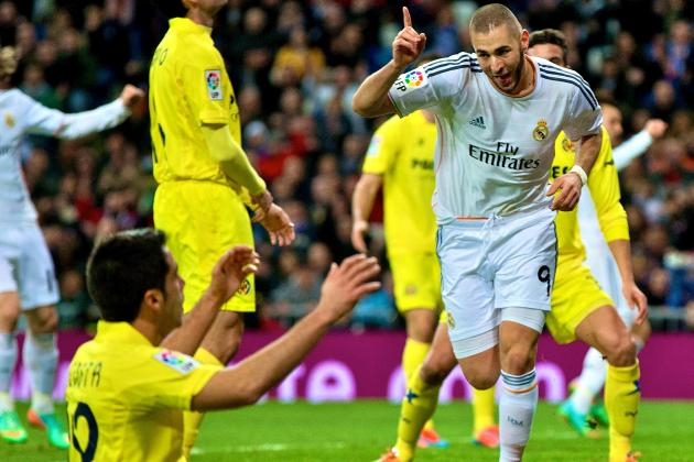 Real Madrid vs. Villarreal Score, Grades and Post-Match Reaction