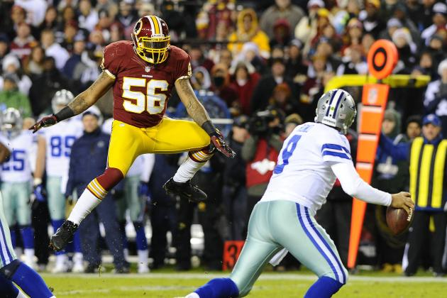 Why the Washington Redskins Absolutely Must Re-Sign Perry Riley Jr.