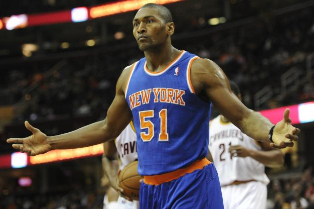 Metta World Peace Latest NY Knicks Player to Reportedly Want Out