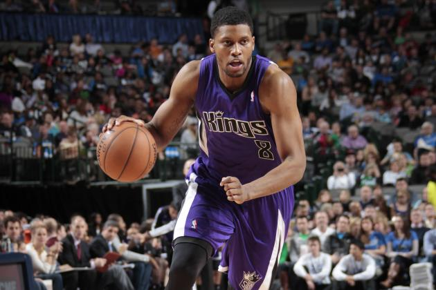 Report: Suns Would Have 'Serious Interest' in Rudy Gay If He Becomes FA
