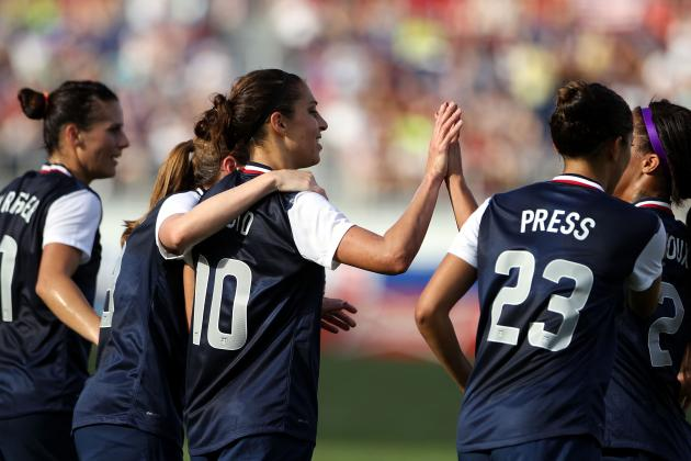 USWNT Ties Record in 7-0 Thrashing of Russia