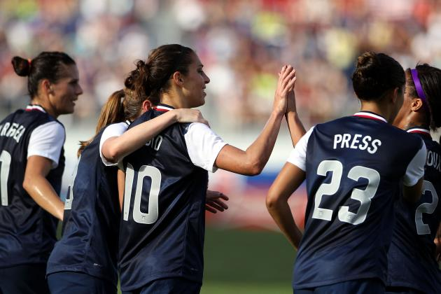 USA vs. Russia Women's Soccer: Score, Grades and Post-Match Reaction
