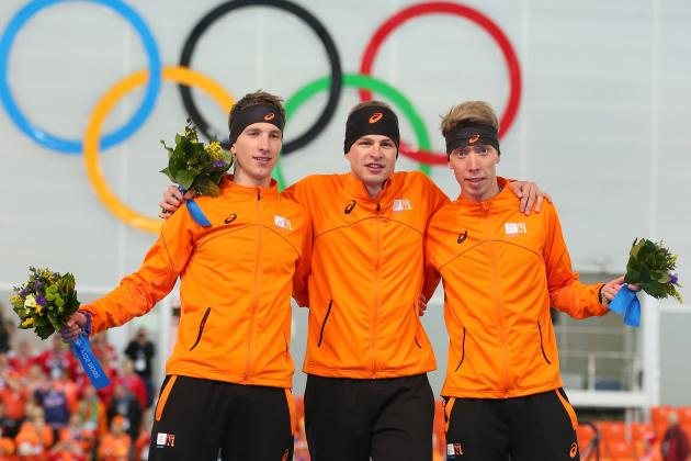Medal Tally Olympics 2014: Updated Results for Each Event from Day 1