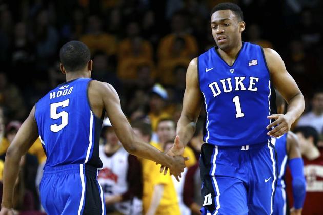 Jabari Parker Scores Career-High 29 Points in Duke's Win vs. Boston College