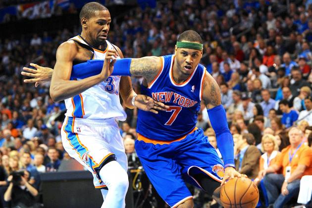 Is Kevin Durant or Carmelo Anthony the Better Pure Scorer?