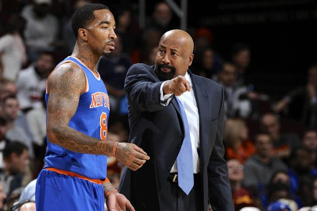JR Smith Says It's 'Hard to Tell' If Knicks Players Support Mike Woodson