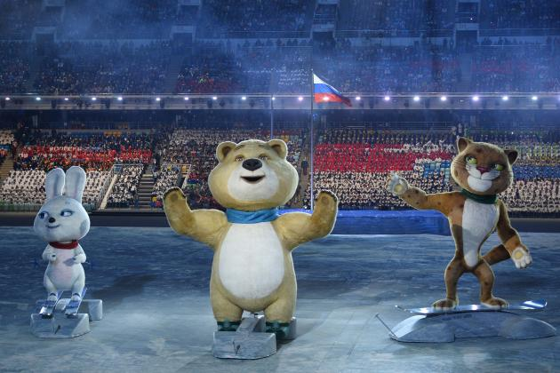 Olympic Mascots Highlighted a Dazzling Opening Ceremony in Sochi