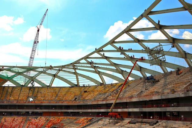 Worker Dies in Accident at Brazilian World Cup Stadium in Manaus