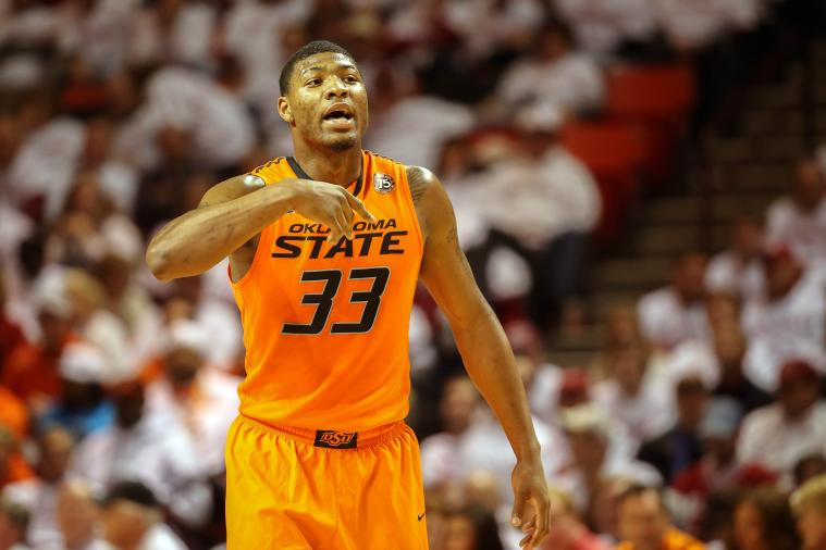 Twitter Reacts to Oklahoma State's Marcus Smart Pushing Texas Tech Fan