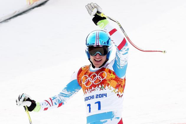 Olympic Alpine Skiing 2014: Live Men's Downhill Medal Results and Analysis