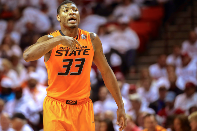 Marcus Smart Pushes Fan in Game vs. Texas Tech