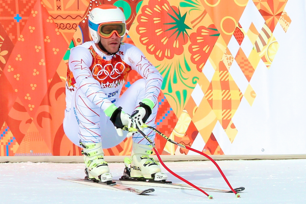 Sochi Olympics: No Silver Lining in Bode Miller's Downhill Disappointment