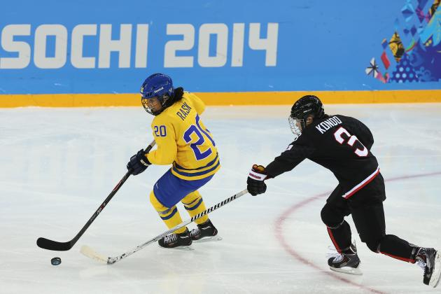 Olympic Hockey 2014: Scores, Recap and Updated Women's Standings After Day 2