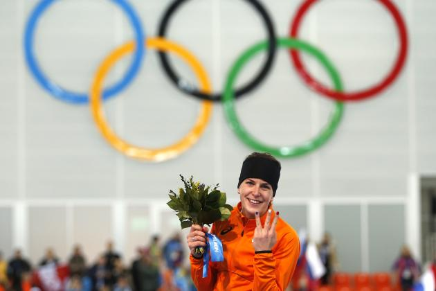 Women's Speedskating Olympics 2014: 3,000-Meter Medal Winners and Times